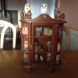 Collection of miniatures owls