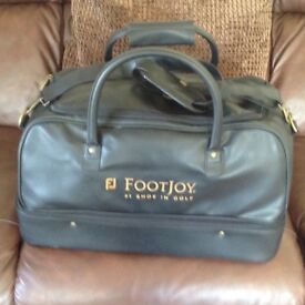 Footjoy deluxe holdall/shoe bag