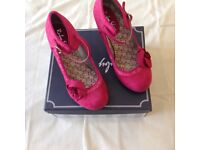 Ruby Shoo shoes size 5