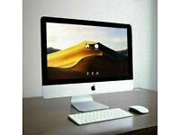 21.5 inch Slim Apple iMac 2.9Ghz Core i5 8GB Ram 1TB HDD Adobe 2021 Suite Photoshop Lightroom FCPX