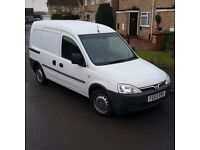Vauxhall Combo 1.7dti LOW MILEAGE! Service history! Twin side Loading door!
