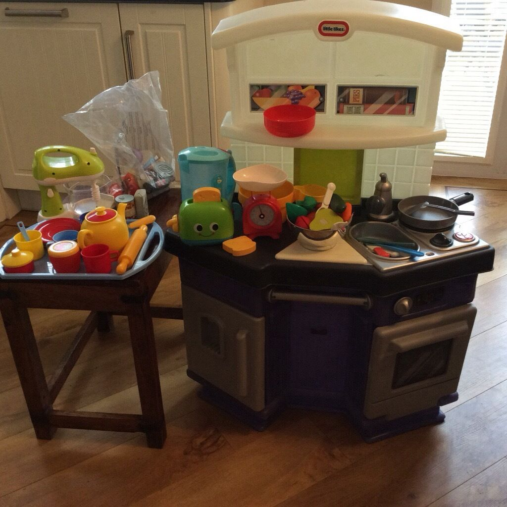 Rocking crib for sale doncaster - Little Tikes Toy Kitchen And Various Kitchen Role Play Accessories