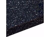 Brand new but slightly damaged homebase granite star laminate kitchen work top rrp £265