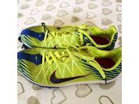 Nike running spikes used size 6