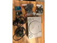 PS1 Console with 2 controllers