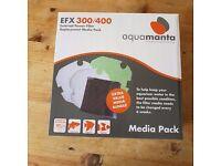 Aquamanta external filter pack