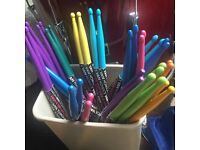 BN Colourful Drum Sticks (Kit Snare Cymbal)