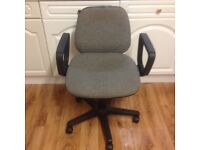 SWIVEL CHAIR - GREY COLOUR (IN GOOD CONDITION)
