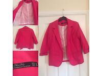 Pink Blazer Size M