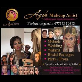 **SPECIAL OFFERS!!!£££** Qualified Professional Bridal, Party & Media Makeup Artist to your door 💄