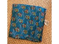 Seasalt of Cornwall scarf. Pretty floral design. Hardly worn. Great cond. smoke free. Can post.