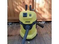 Karcher WD 3.500 P Wet & Dry Multi Purpose Vacuum Fully Working (except power take off)