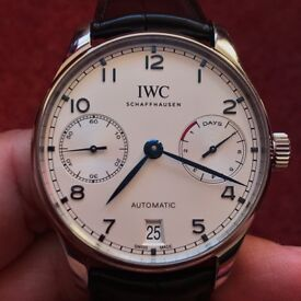 IWC Portugieser Automatic 42.3mm IW500705 - with Box and Papers and Warranty remaining