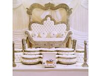 London Negafa / Ziana. Bridal Kaftan. Moroccan / Arab Weddings. Wedding throne / chair London & doli