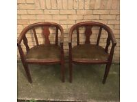 Very Old Pair of Chairs
