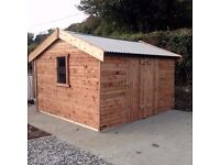 heavy duty garden sheds waterproof lined heavy boards waterproof lined tin roofs