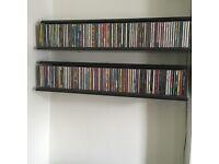 Black Shelving for CD storage