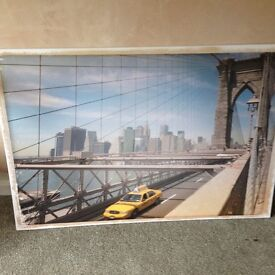 Large New York Canvas - From Next