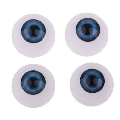 Reborn yeux marron foncé 22mmR55 poupée MODERNE//Vintage//Reborn doll eyes polymer