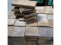 Slate Paving Slabs - Rusty Colour - Just £0.80 pence per slab !