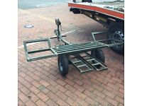 Car Towing dolly car transporter car recovery trailer
