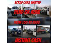 cars vans and bikes wanted