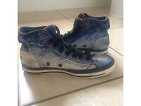just 25% of original price! DIESEL jeans trainers size 5 1/2 - 6, European 38 sneakers!