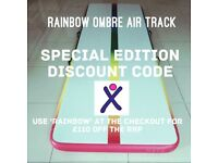Rainbow Ombre Air Track