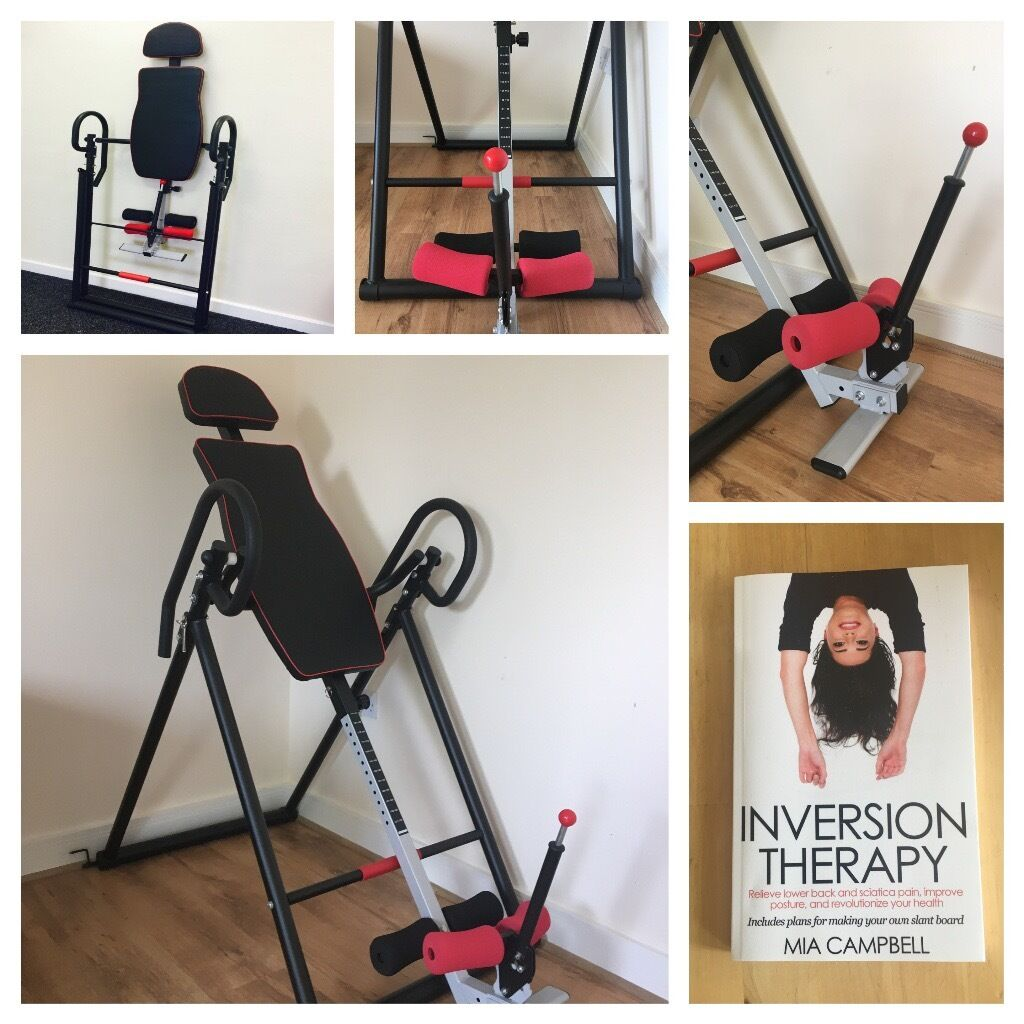 Inversion Table   Spinal Decompression Therapy For Sciatica And Back Pain