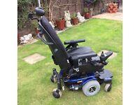 QUANTUM 600 power wheelchair.