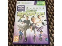 Xbox game. Kinect sports.