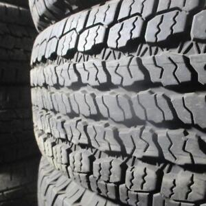 2 GOODYEAR WRANGLER ALL TERRAIN ADVENTURE 265/70R16 TIRES 95% TREAD 265/70/16
