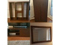 NEXT mango wood livingroom furniture