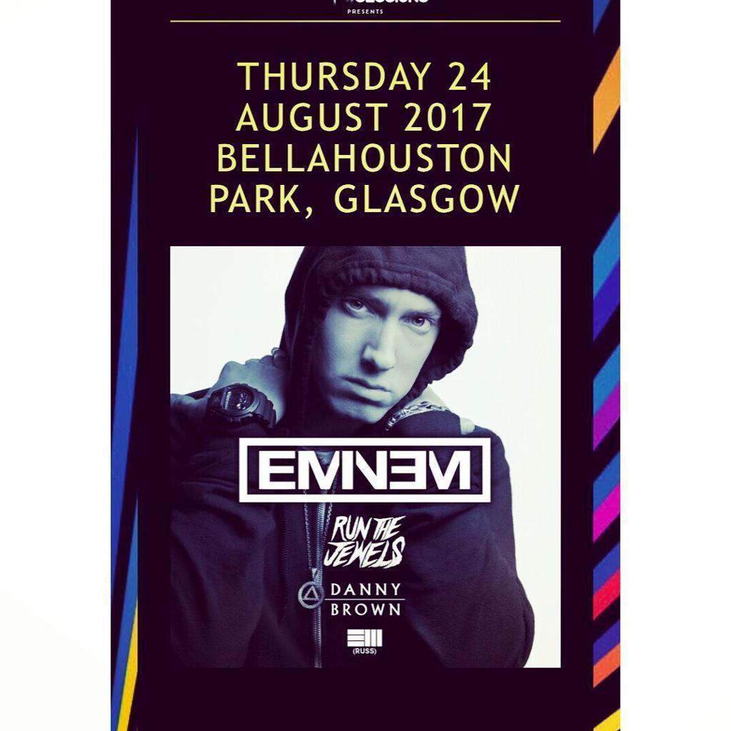 2 x Eminem Ticket