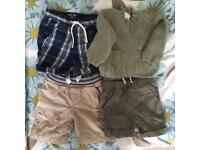 Boys 1.5- 2 year old shorts bundle Next and Mini Boden