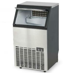 Stainless Steel Commercial Ice Machine Undercounter  - 100LB/24HR  Brand new - FREE SHIPPING