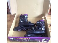 In-line Roller Skate Boots, UK size 8, £10