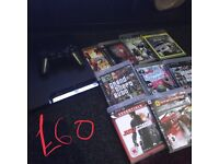 PS3 with games leads pad great condition