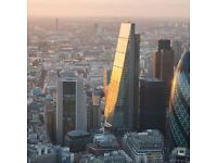 5 Person Private Office Space in the City of London | EC3V | From £630 per person pcm !