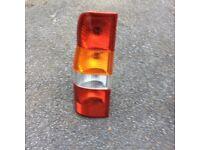 Transit rear lights