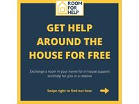FREE HOUSE WORK, CHILD CARE, PET SITTING, COMPANIONSHIP ETC IN EXCHANGE FOR ACCOMODATION