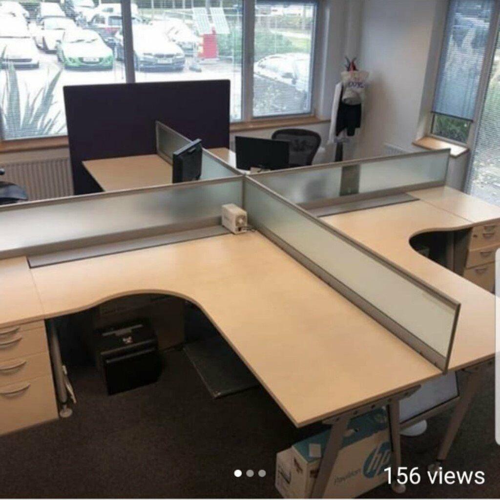 Quality Huge Desks With Pedestal