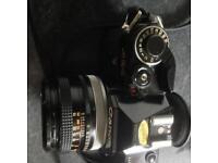 Canon AE-1 Film Camera FD 50mm 1:1.8 SC Black Version