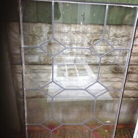 DOUBLE GLAZING GLASS WITH LEAD DESIGN