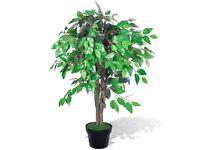 Artificial Plant Ficus Tree with Pot 90 cm-241359