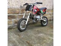 mini dirt bike for sale (49cc)