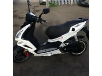 Peugeot speed fighter 3 50cc 2012 ice blade