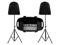 Studiomaster Walkabout 300W, 5 Channel Portable PA System
