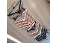 Wooden Hangers (15 in total)