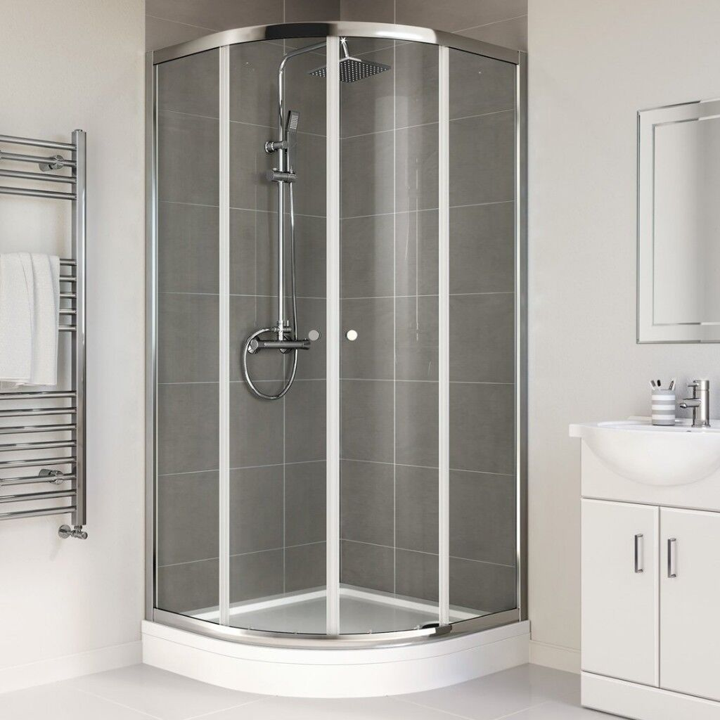 High Quality: SHOWER ENCLOSURE & TRAY - Brand new in packaging - 900 ...
